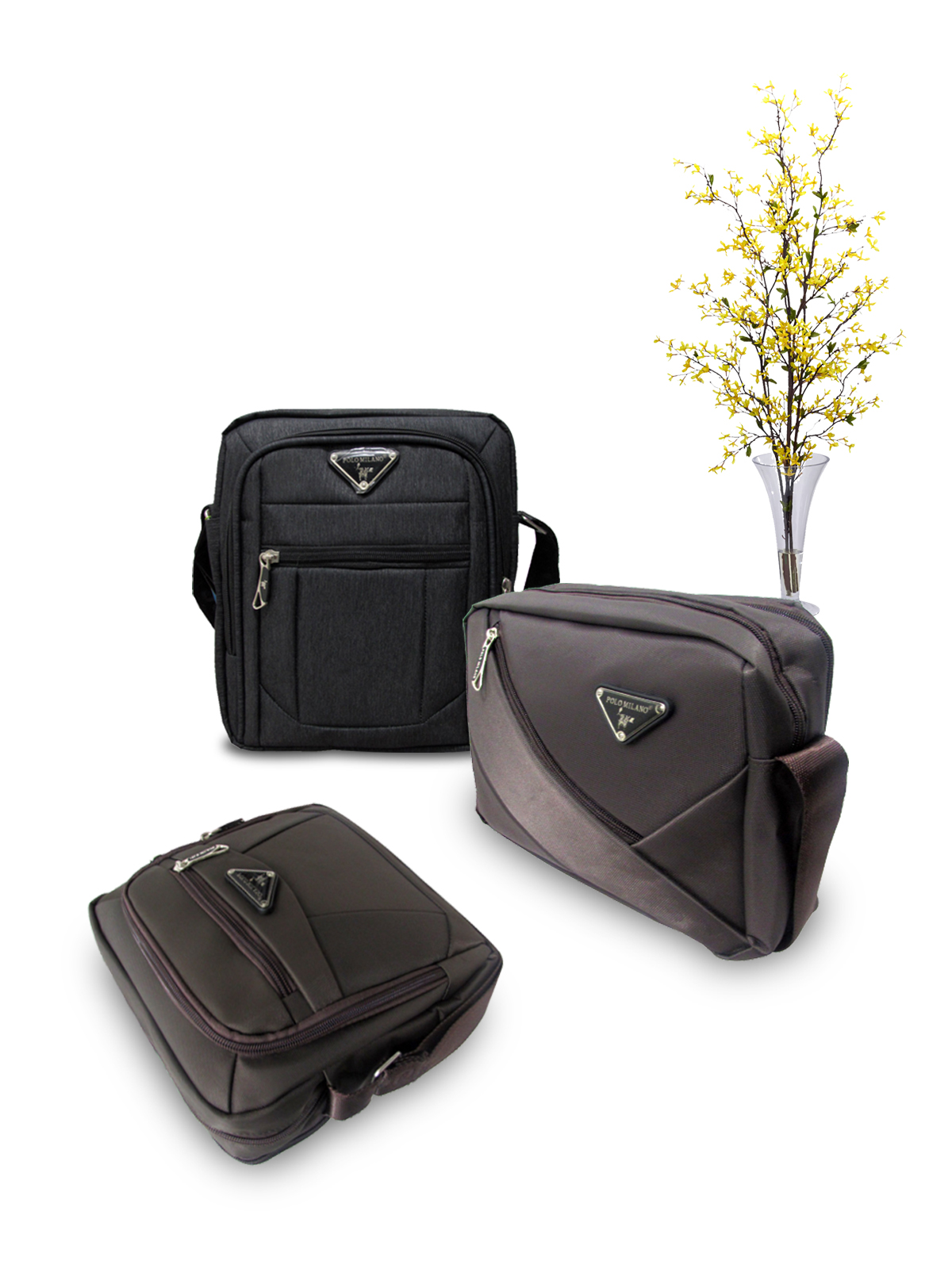 b0dab210baa4 PROMO Cuci Gudang Sling Bag 10 Inch Polo Milano    Polo Milano